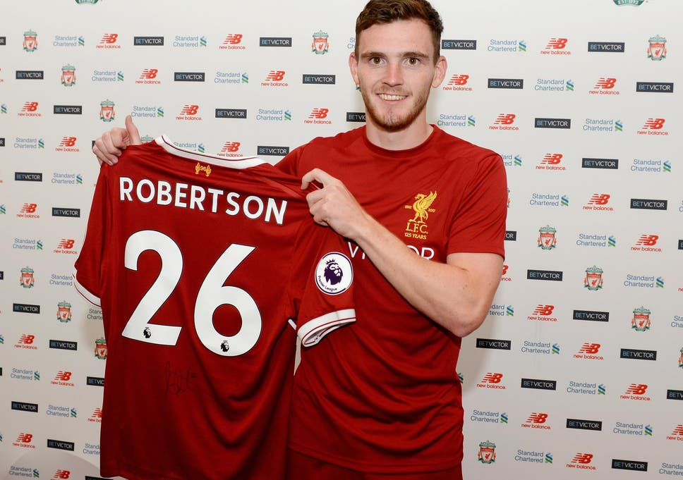 reputable site 69e97 11170 Andy Robertson completes move to Liverpool from Hull for £8m ...