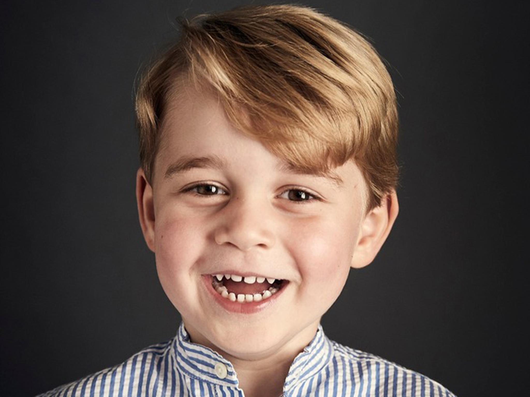 Prince George photo marks fourth birthday