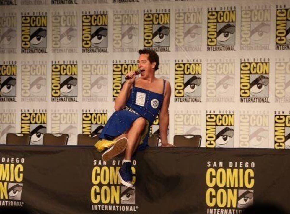 Barrowman appearing in a dress was subverting, not reinforcing, gender stereotypes