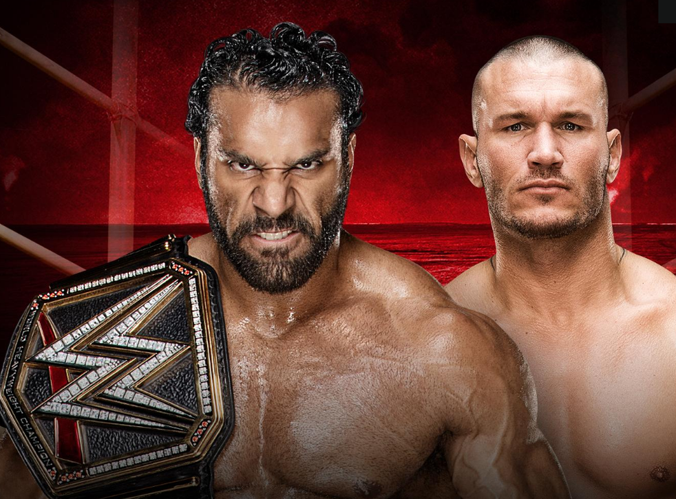 Jinder Mahal defends his title against Randy Orton
