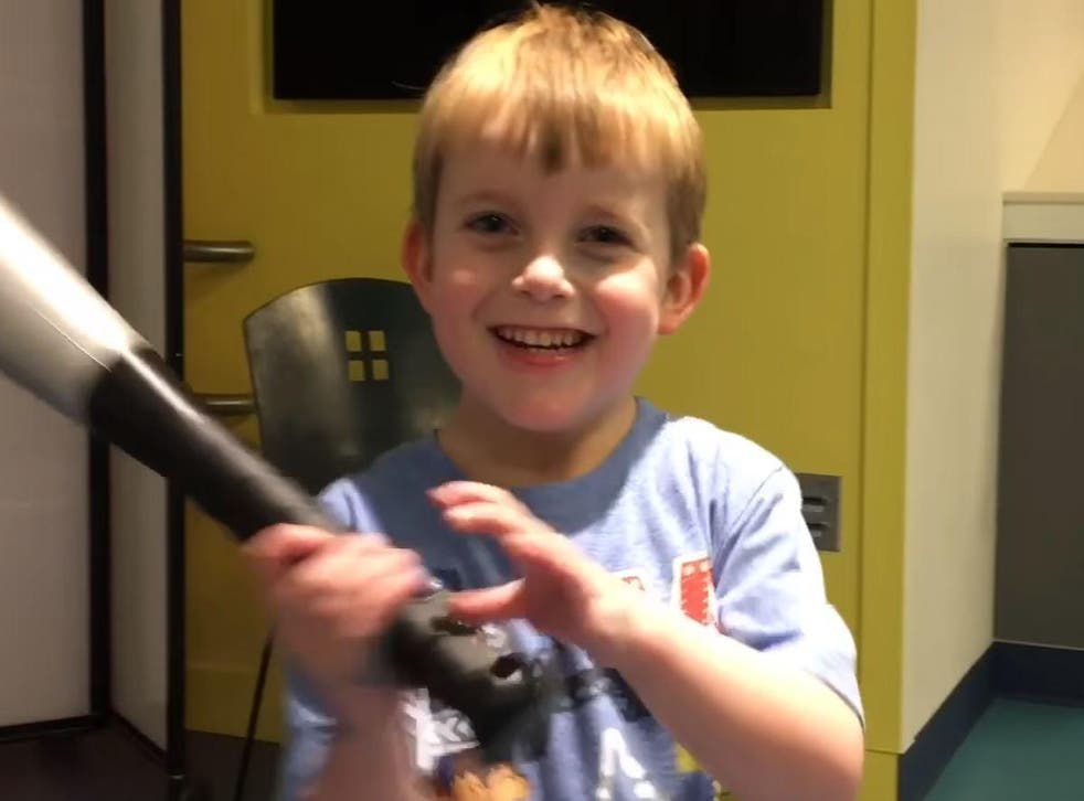 Ari's reaction as he was told he was getting a heart transplant