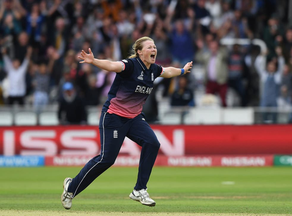 Anya Shrubsole's late charge fired England to victory
