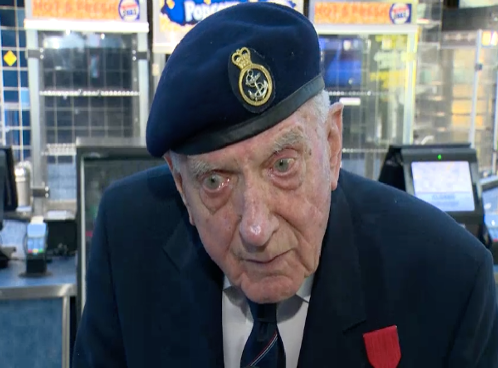 World War II veteran Ken Sturdy was moved to tears after seeing Christopher Nolan's war epic