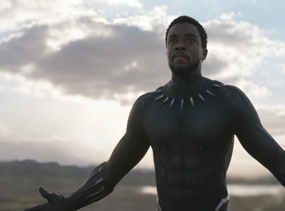 A still from upcoming film Black Panther