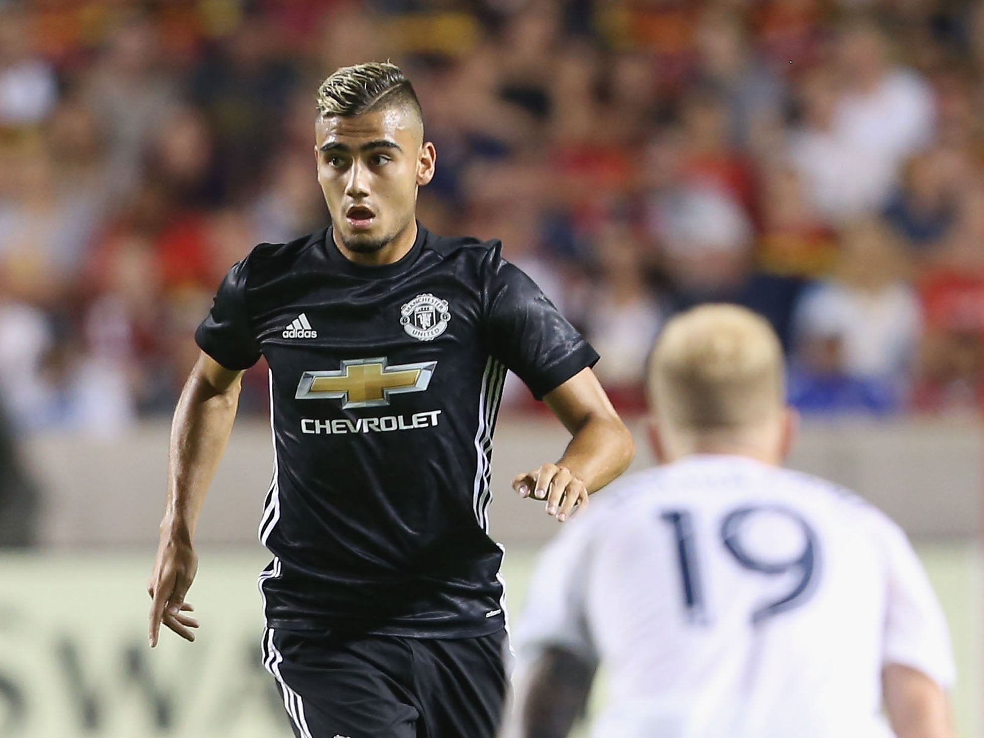 How Andreas Pereira reacted to 1-0 defeat against Barcelona