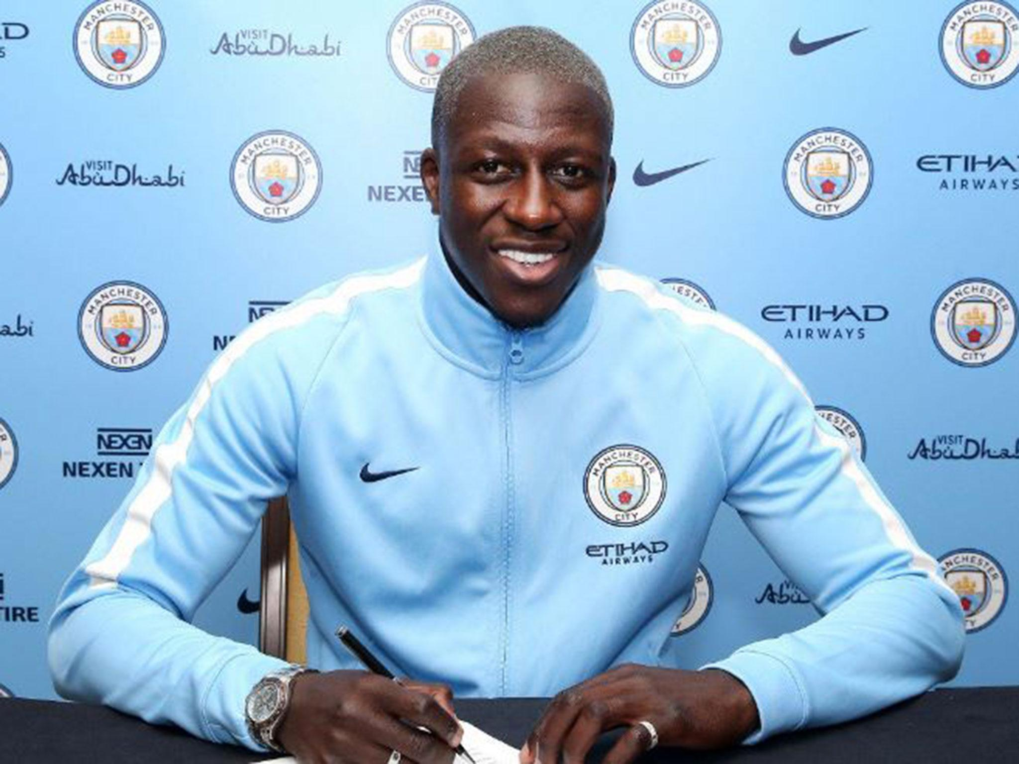 Manchester City sign Benjamin Mendy for world record fee as summer