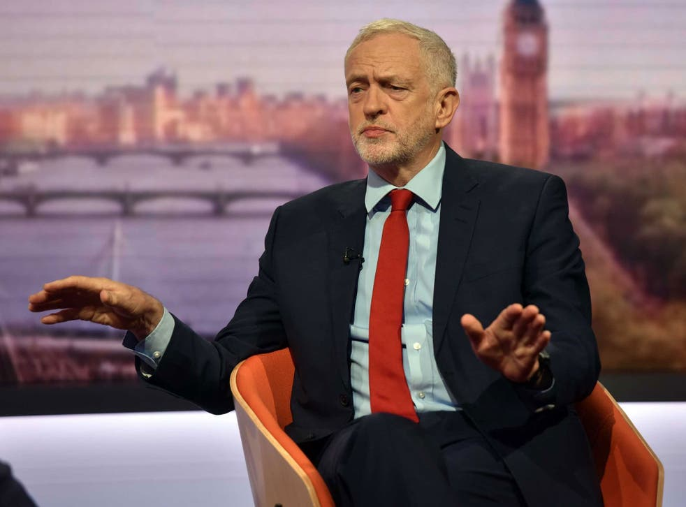 The Labour leader's appearance on the 'Andrew Marr Show' last Sunday made clear his instincts on Brexit