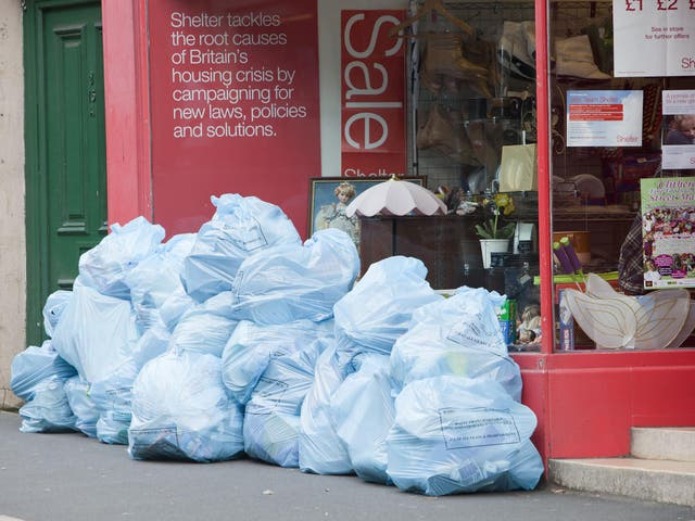 In the bag: Britons throw away a staggering amount of clothes every year
