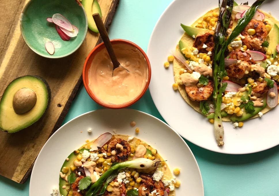How to make chipotle prawn tostadas with chilli crème | The