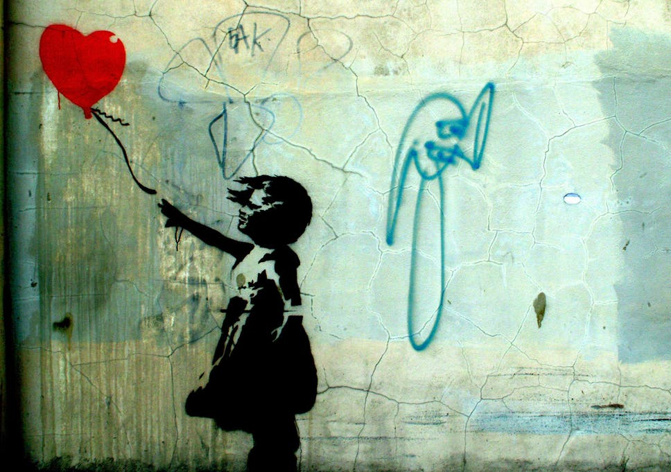 Banksy\'s \'Balloon Girl\' beats paintings by Constable and Turner to ...