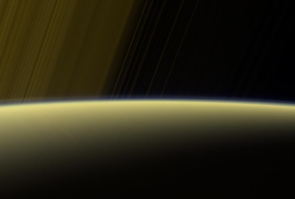 Cassini spacecraft sends back stunning images and data as it prepares to crash into Saturn