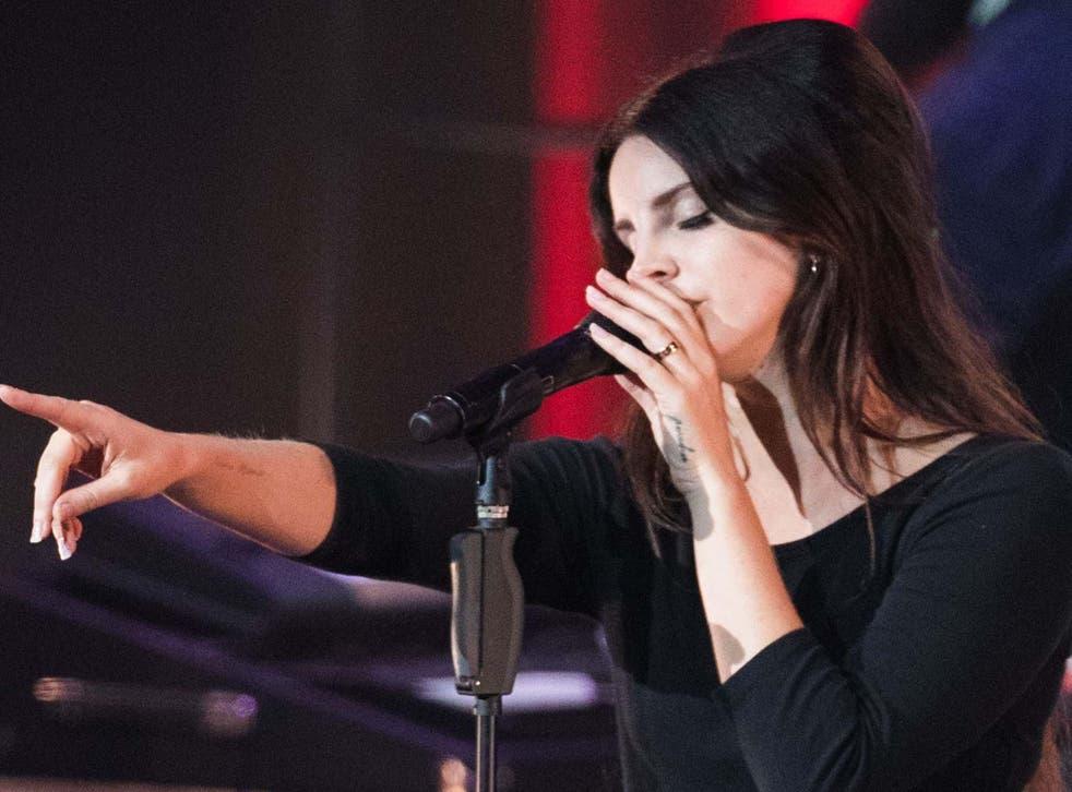 Lana Del Rey in concert at O2 Academy Brixton