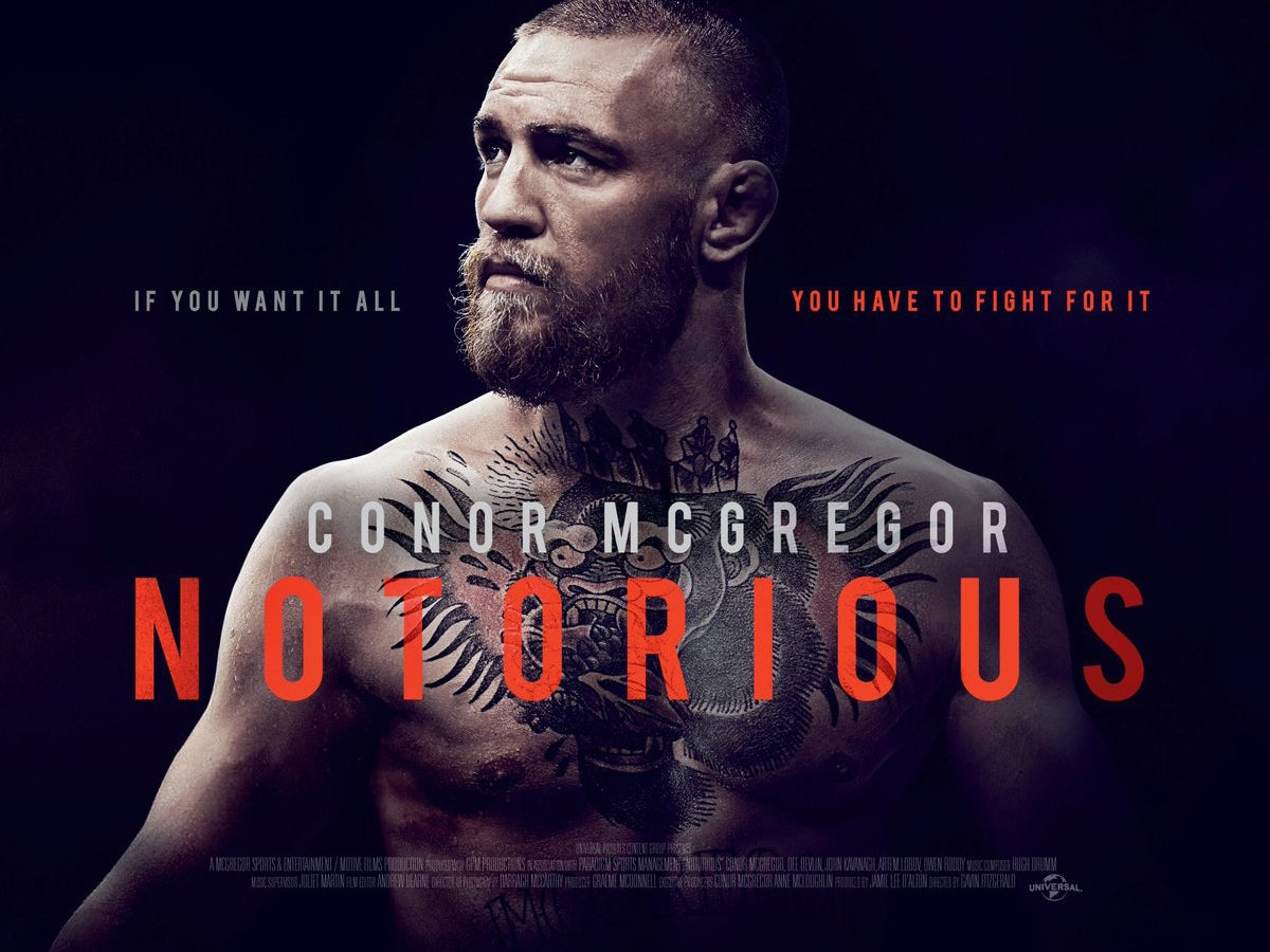 Universal Life Insurance >> Conor McGregor announces 'Notorious' documentary film ahead of his fight with Floyd Mayweather ...