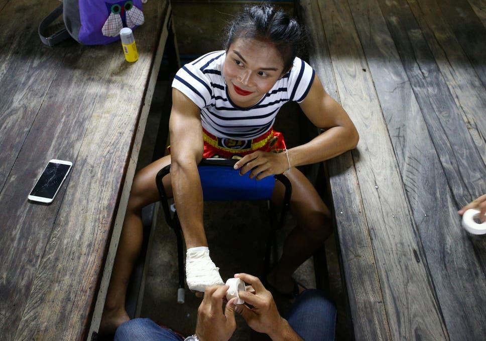 Thai transvestite boxer parinya