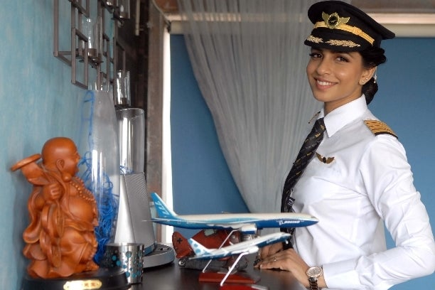 Indian woman becomes youngest female commander of Boeing 777 plane in the world