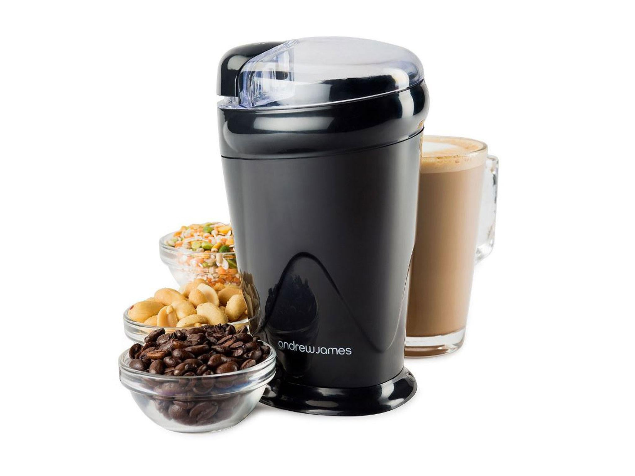 Electric coffee grinder. Characteristics, reviews, prices 39