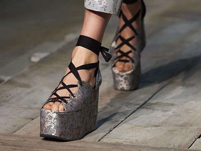 Flatforms: A trend that's taking 'ugly shoes' to new heights
