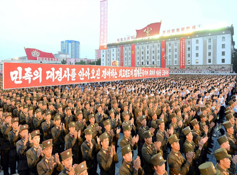 North Korea recently celebrated after testing a missile that could hit Alaska