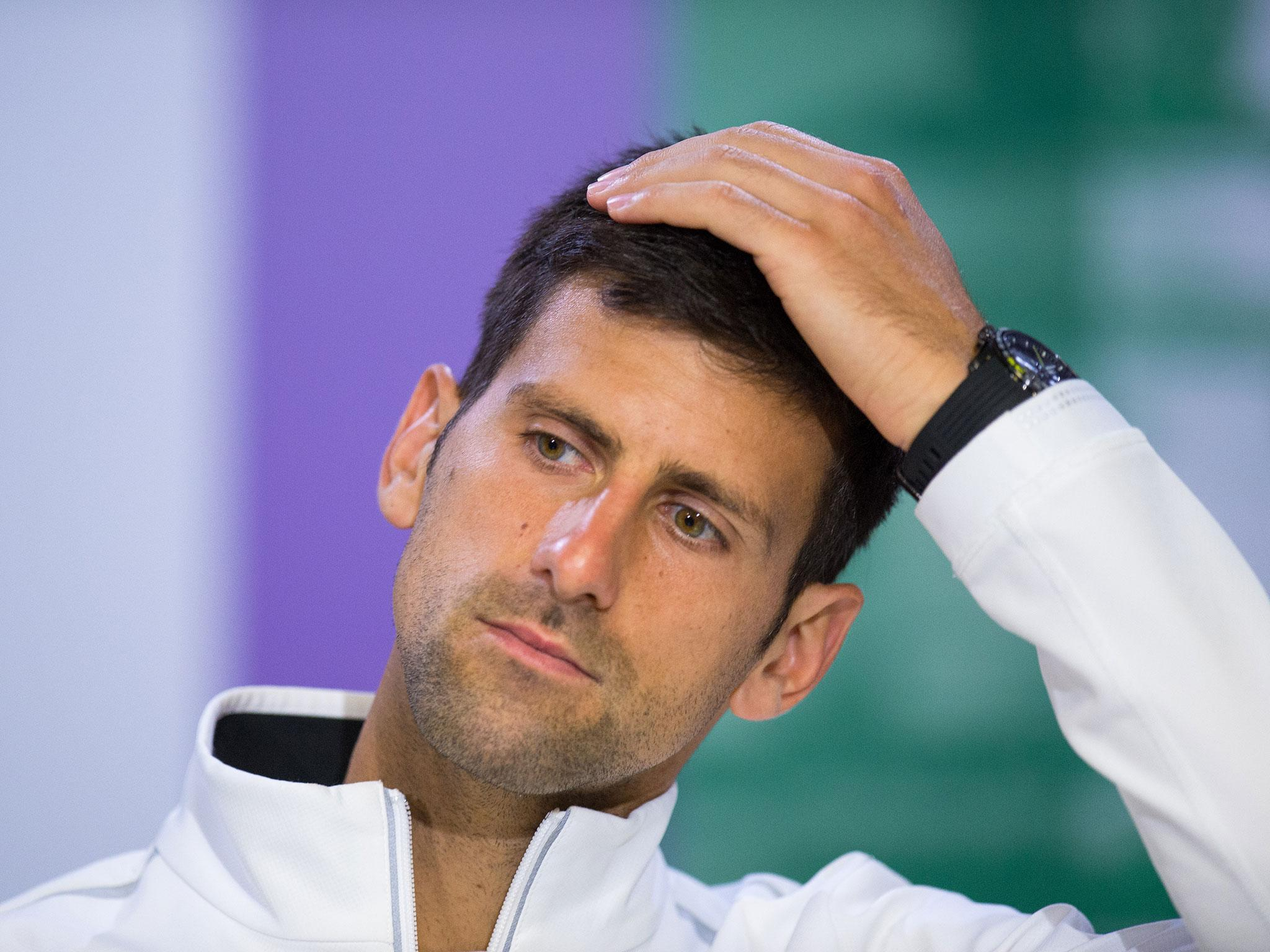 Novak Djokovic confirms he will not play again in 2017 following