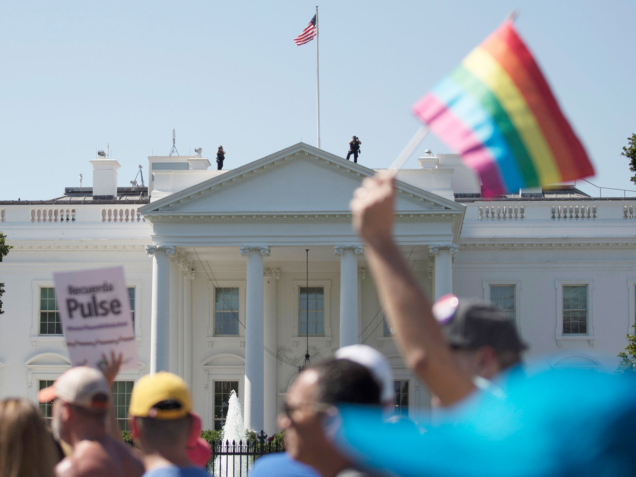 It's not just the military. Trump is also rolling back rights for LGBT people in the workplace