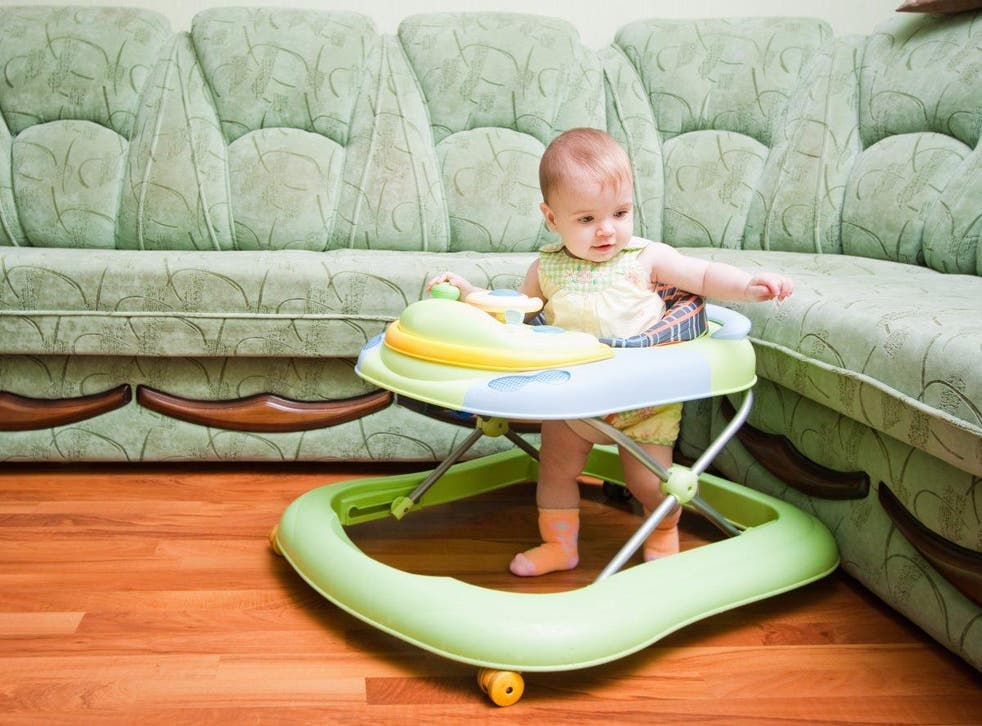 Canadians banned baby walkers in an effort to keep children safe.