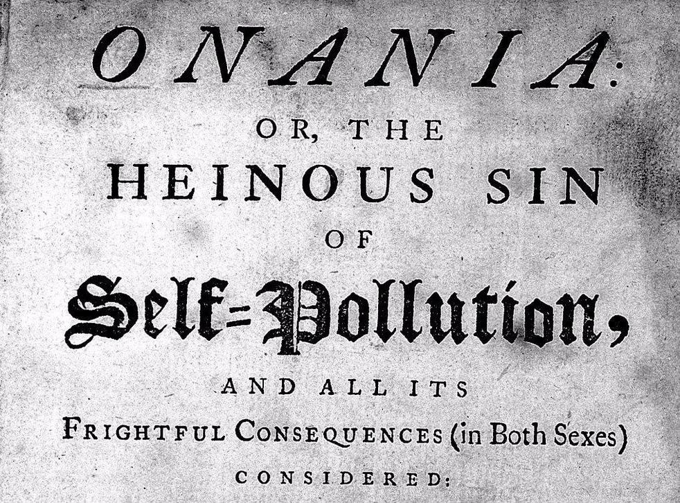 An old English anti-masturbation treatise from the 18th century.