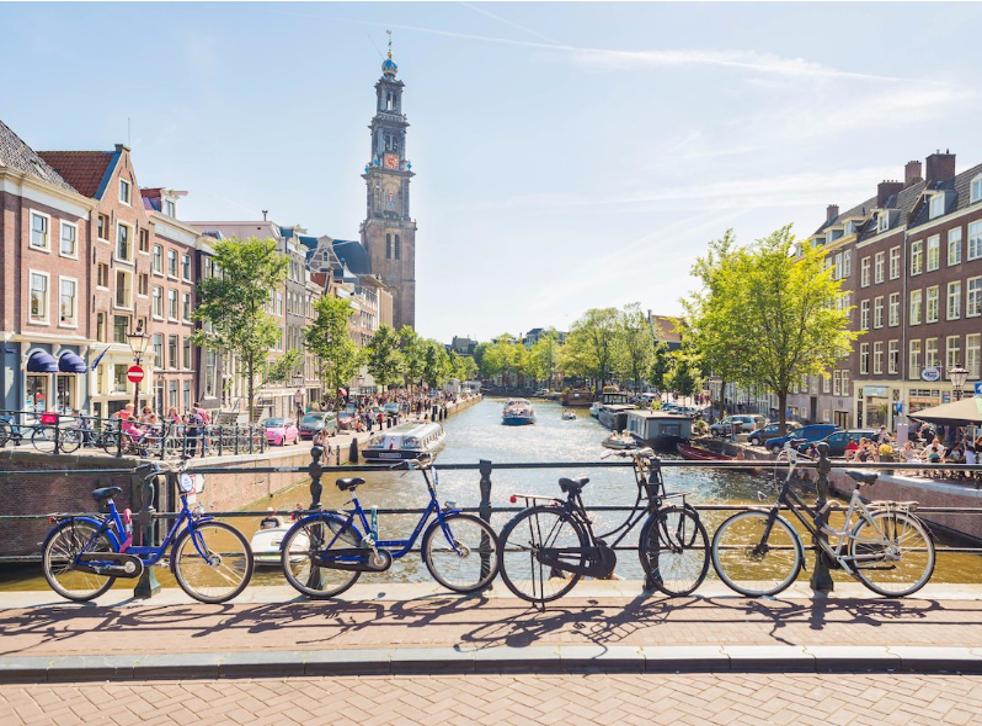 Summertime in Amsterdam, The Netherlands