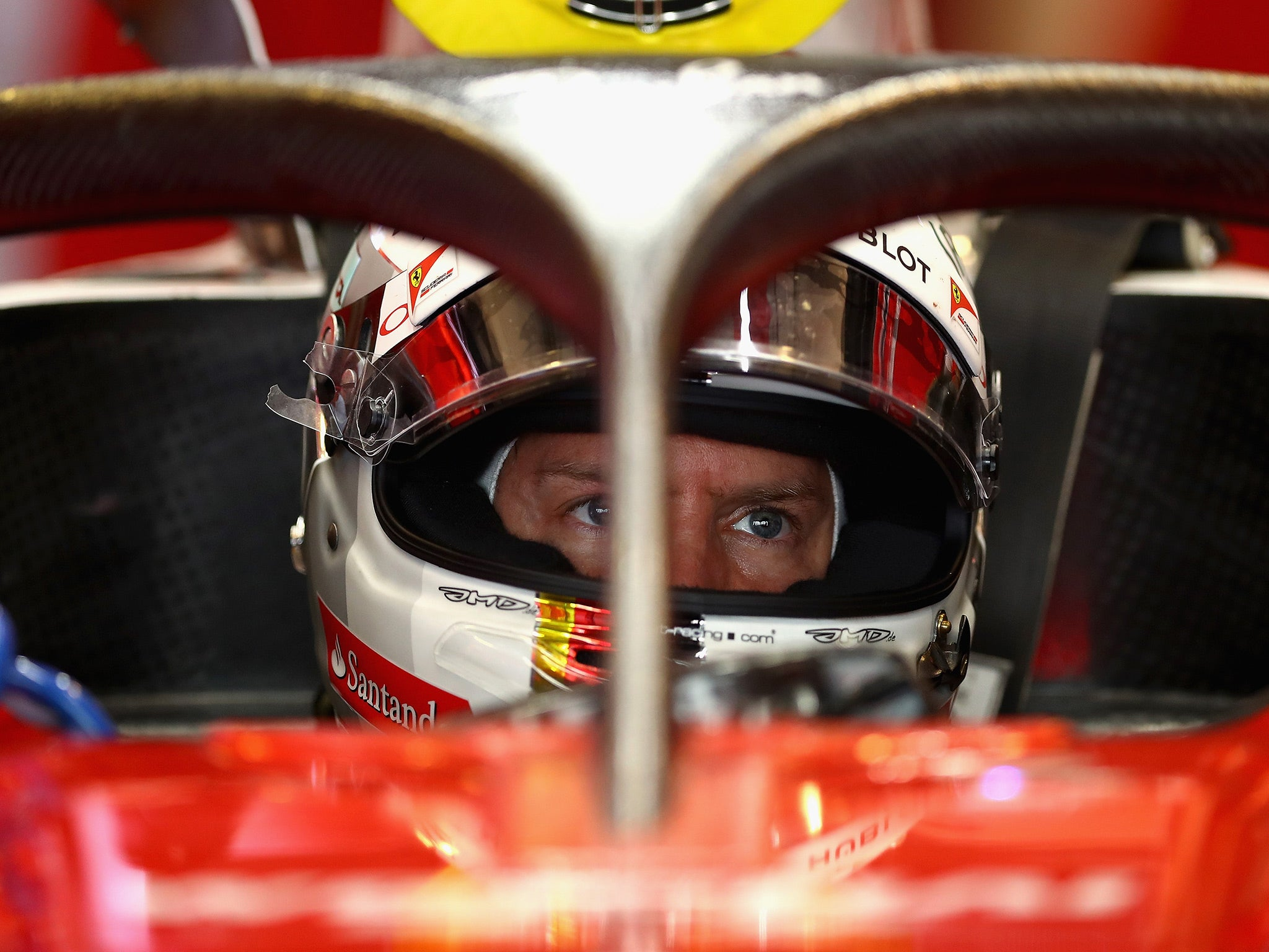 Hungarian grand prix sebastian vettel and max verstappen weigh in on halo protection controversy the independent
