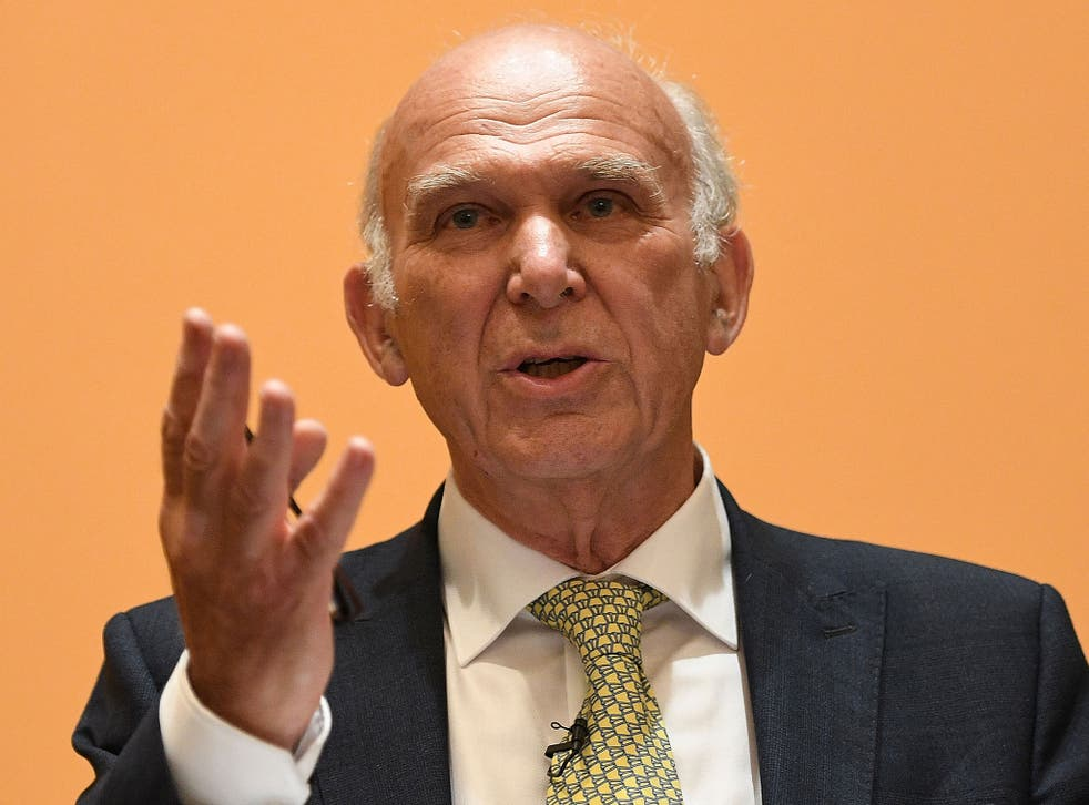 Liberal Democrats leader Vince Cable is opposed to Brexit and believes the UK should hold a second referendum