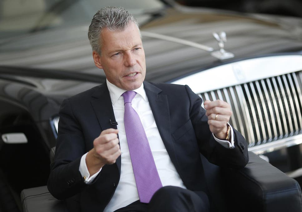A View from the Top: Torsten Müller-Ötvös, CEO of Rolls-Royce and