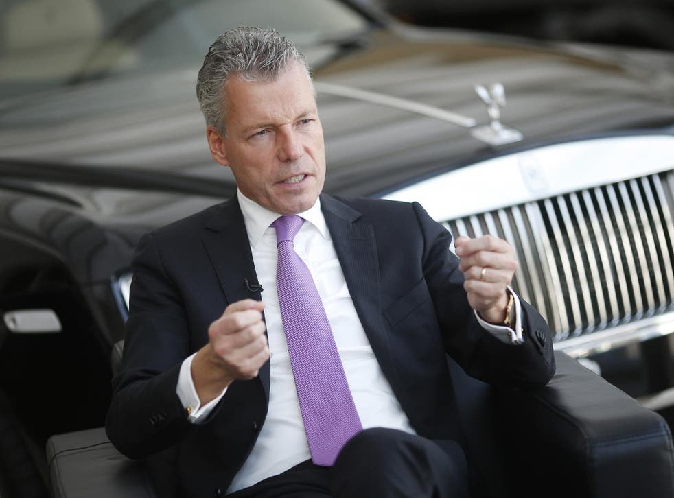 The man behind the new Rolls-Royce eighth generation of the Phantom