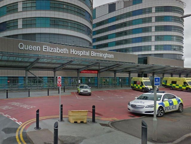 <p>Queen Elizabeth Hospital in Birmingham could see 280 patients in intensive care by the end of the week</p>
