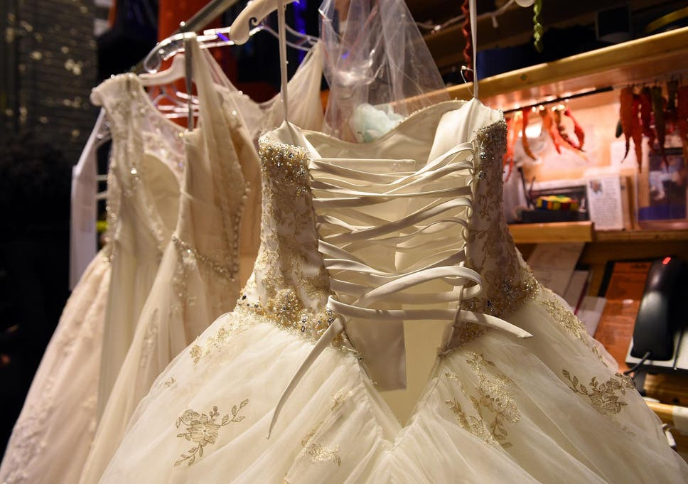 Seamstress From Abruptly Bankrupt Bridal Store Reunites Brides