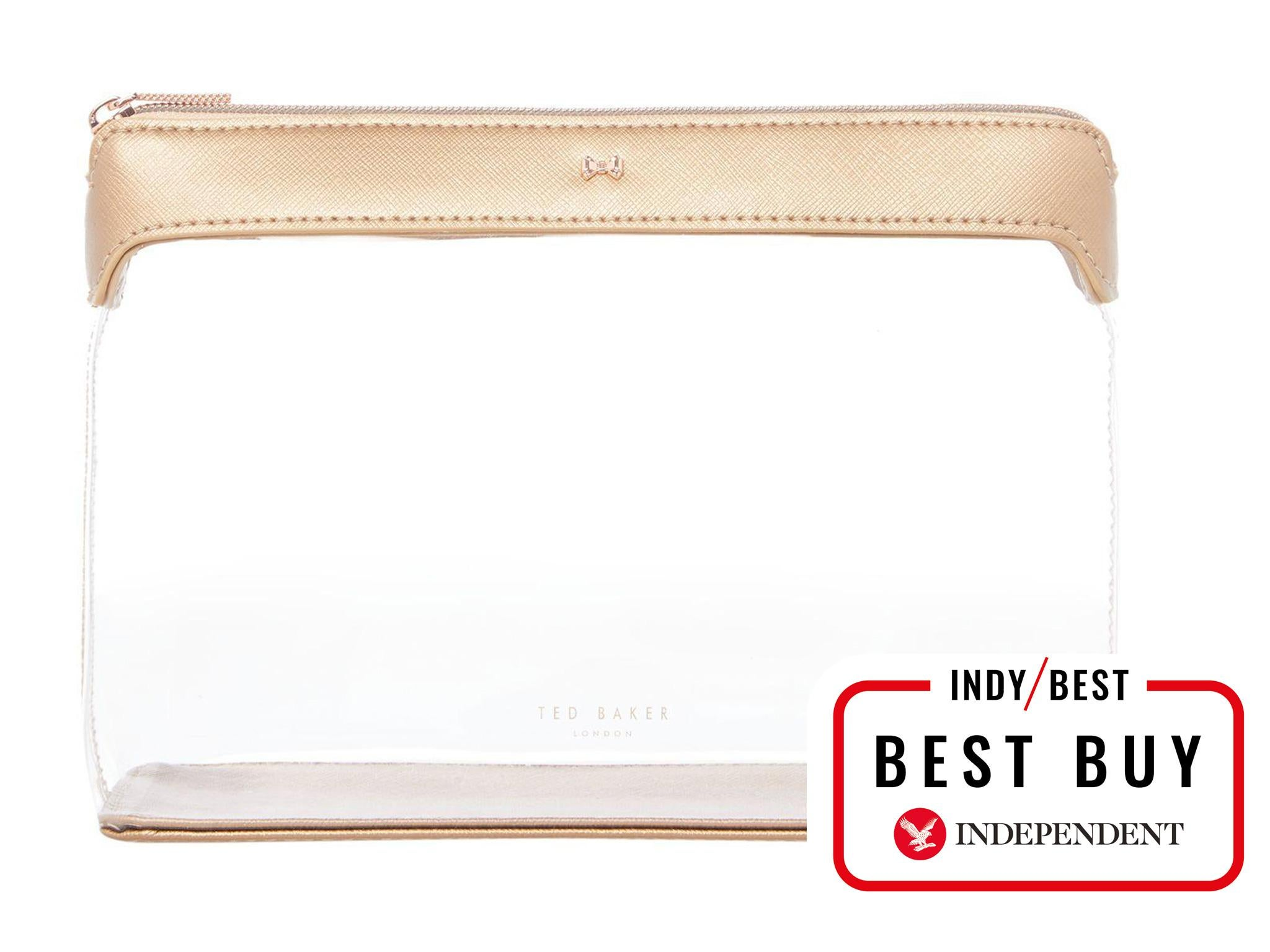 If you want a simple, no-fuss wash bag that s still stylish, look no  further than this one from high street favourite Ted Baker. With a  see-through exterior ... 299716f821