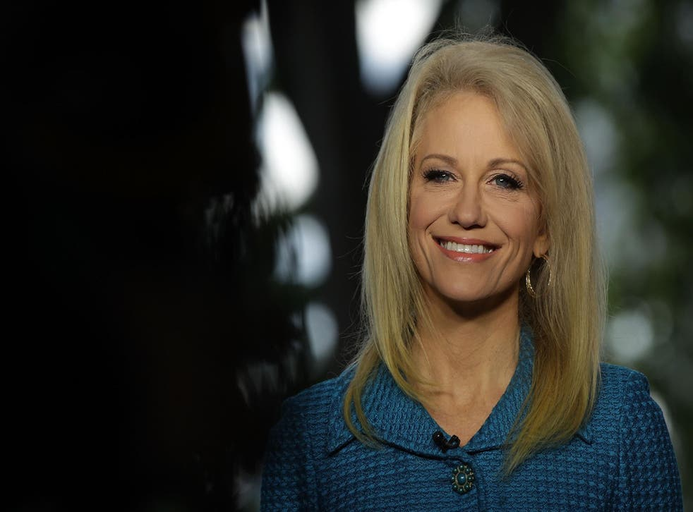 Conway says that the White House hasn't ruled out using polygraph tests on staff