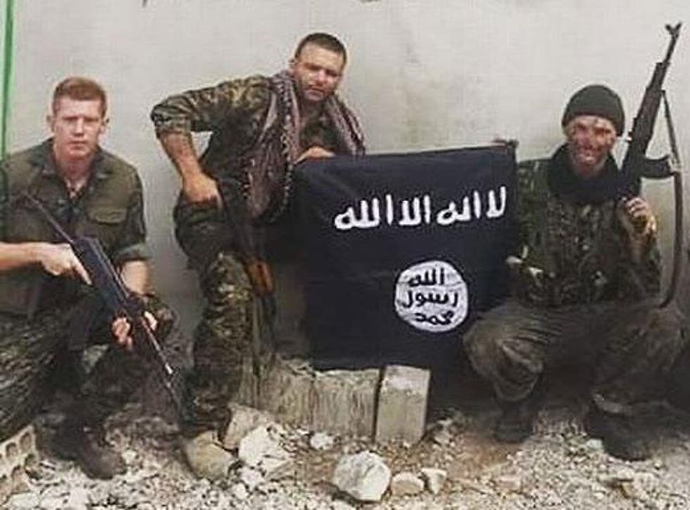 Joe Robinson, far left, was arrested while holidaying in Turkey