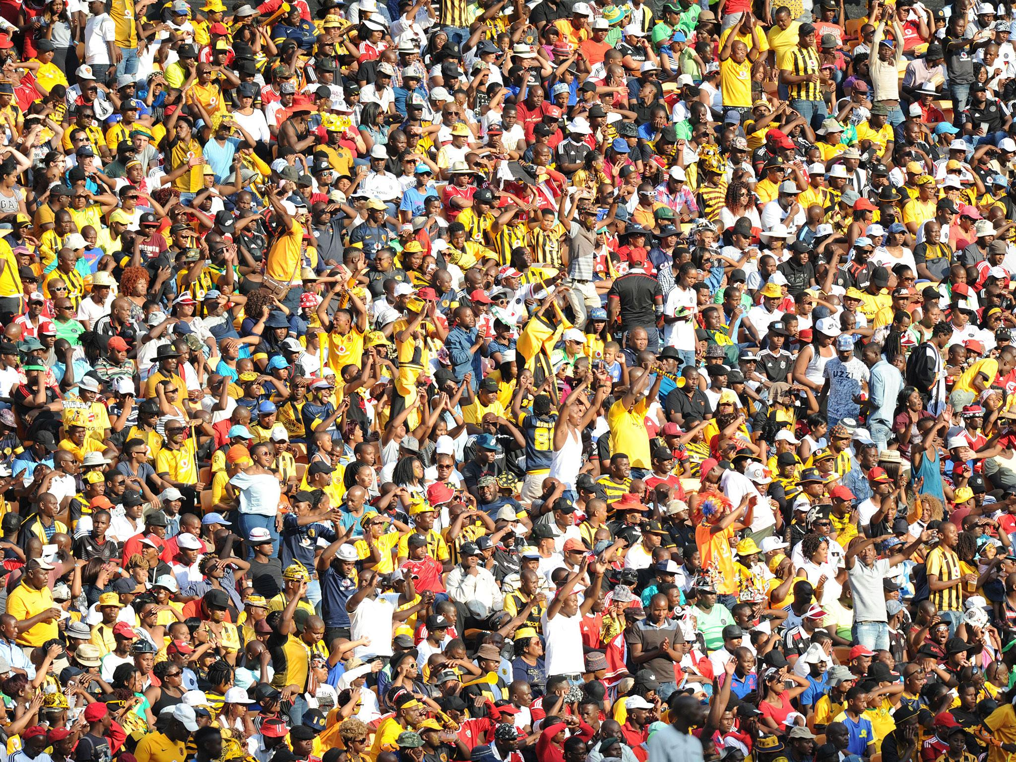 Two fans killed and several injured in fan crush in South Africa