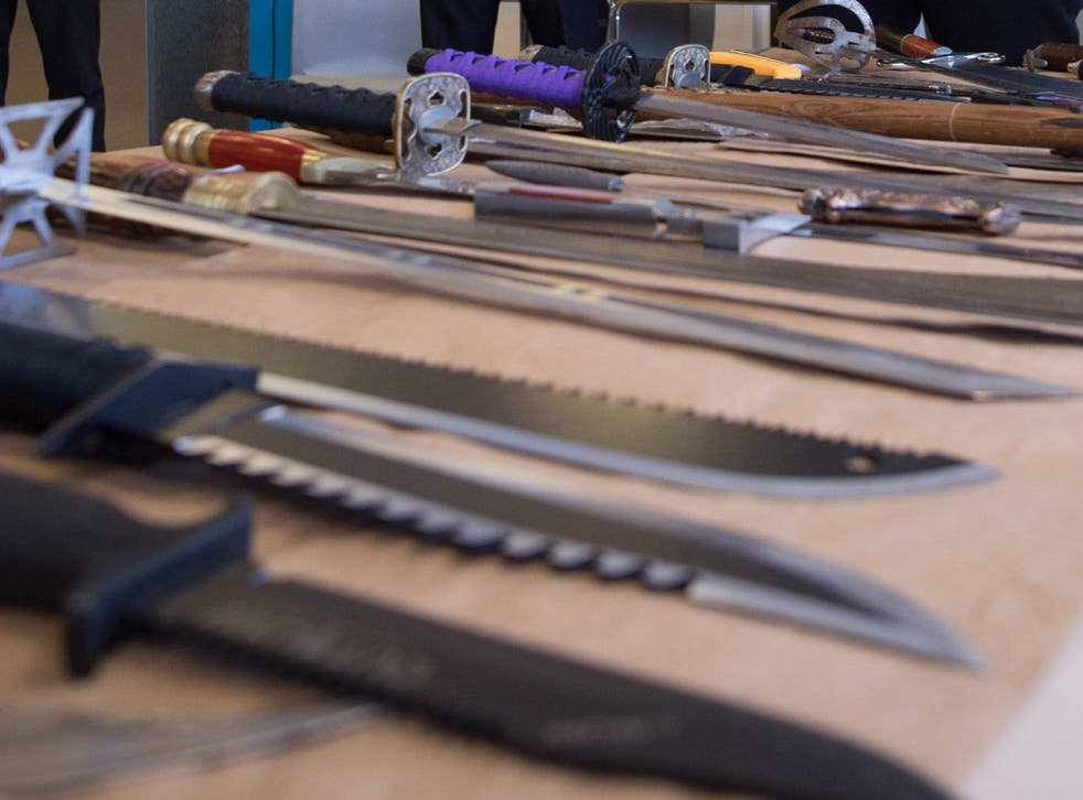 Knives are used in criminal acts around four times every hour in the UK