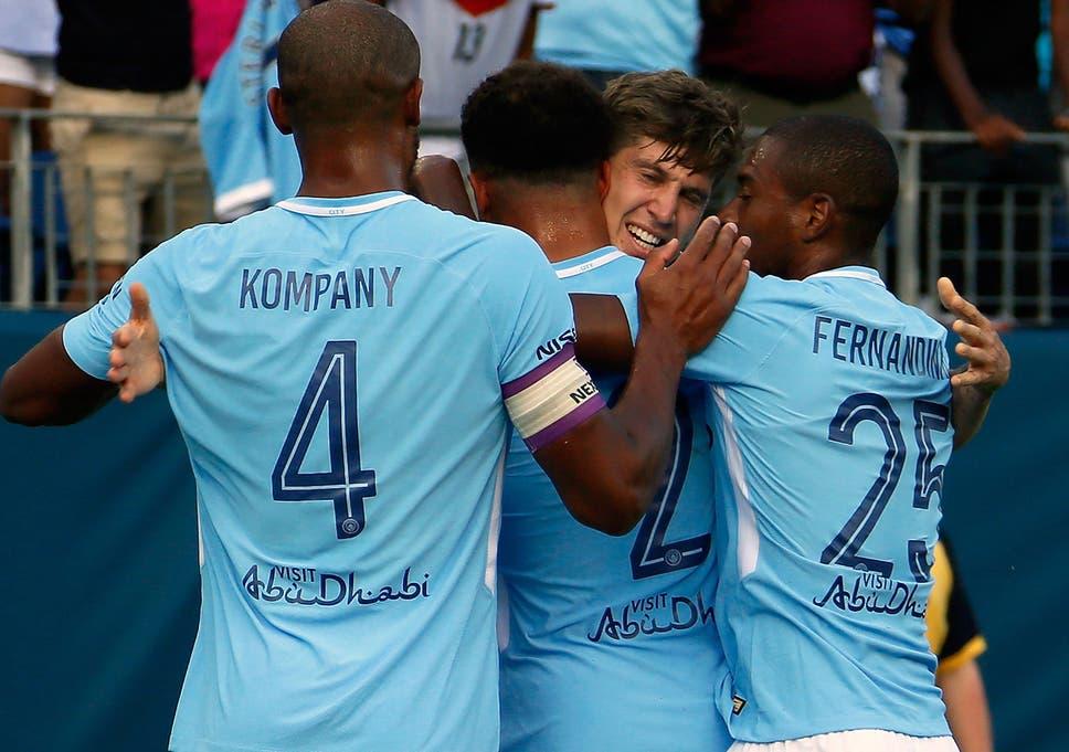 new york 07bb7 8e2fa Manchester City vs Tottenham: Spurs humbled as John Stones ...