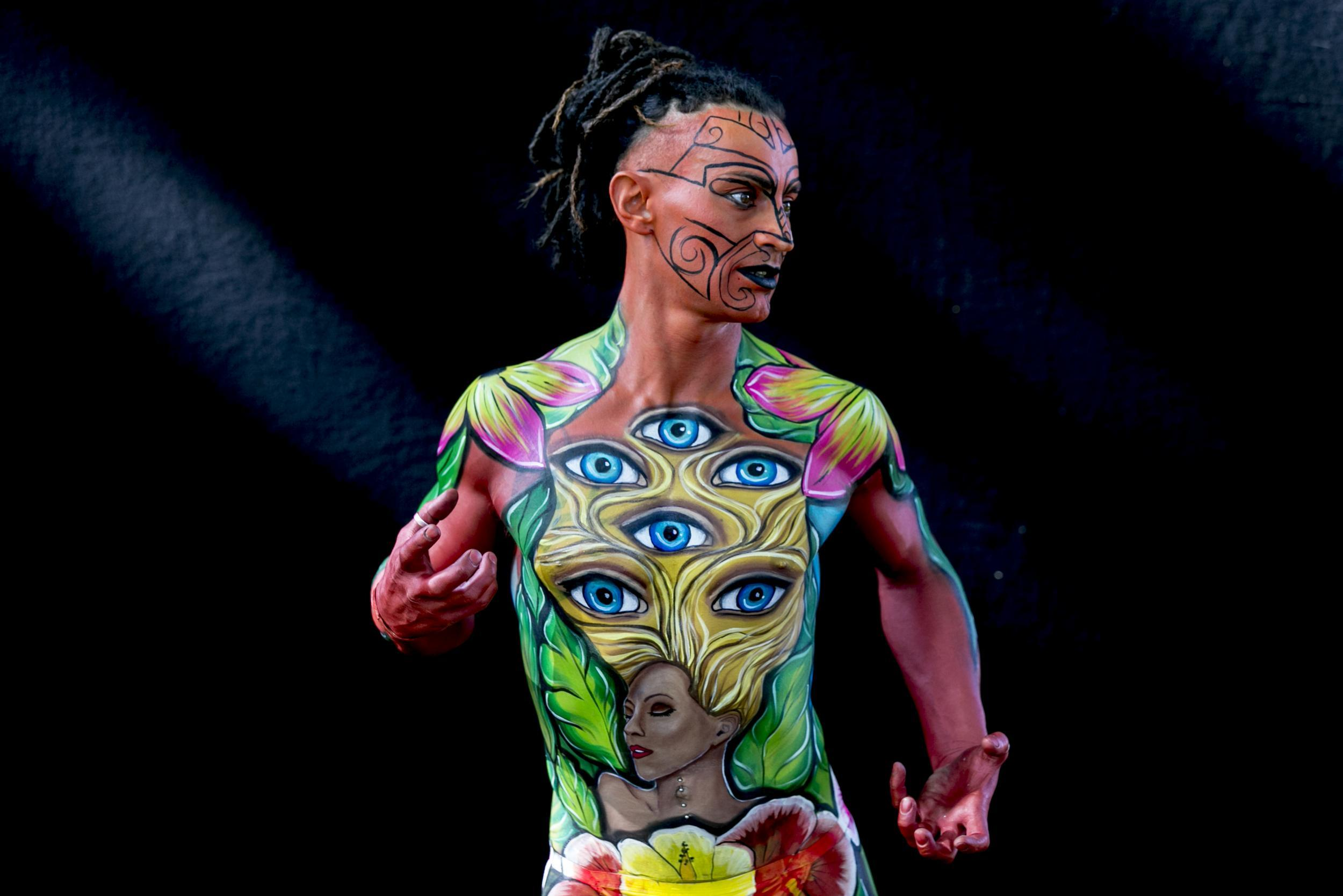 These Are The Best Images From The World Bodypainting Festival Indy100
