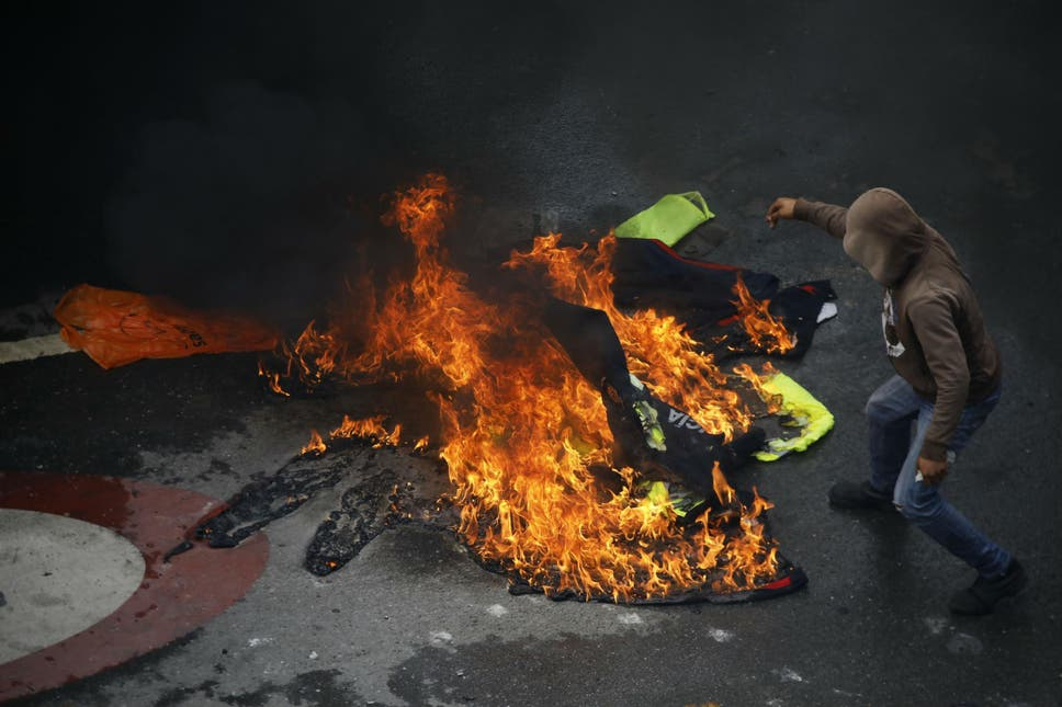 Three dead in protests as venezuela votes on controversial new opponents of mr maduro boycotted the vote fandeluxe Images