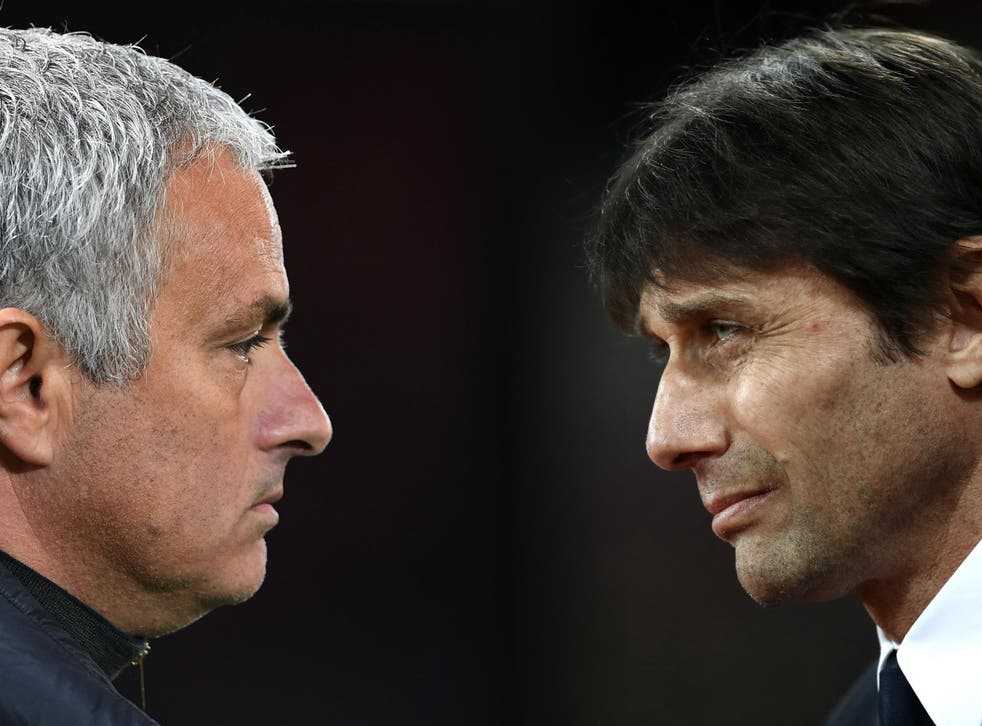 Jose Mourinho and Antonio Conte are both desperate for a result on Sunday