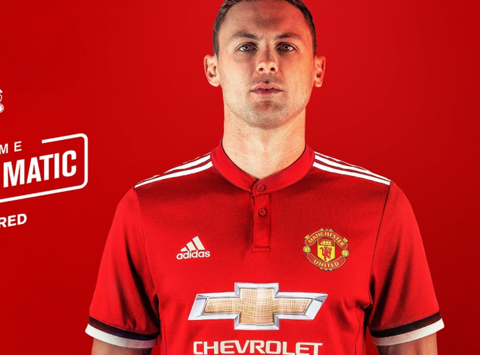 Nemanja Matic has joined Manchester United on a three-year deal from Chelsea