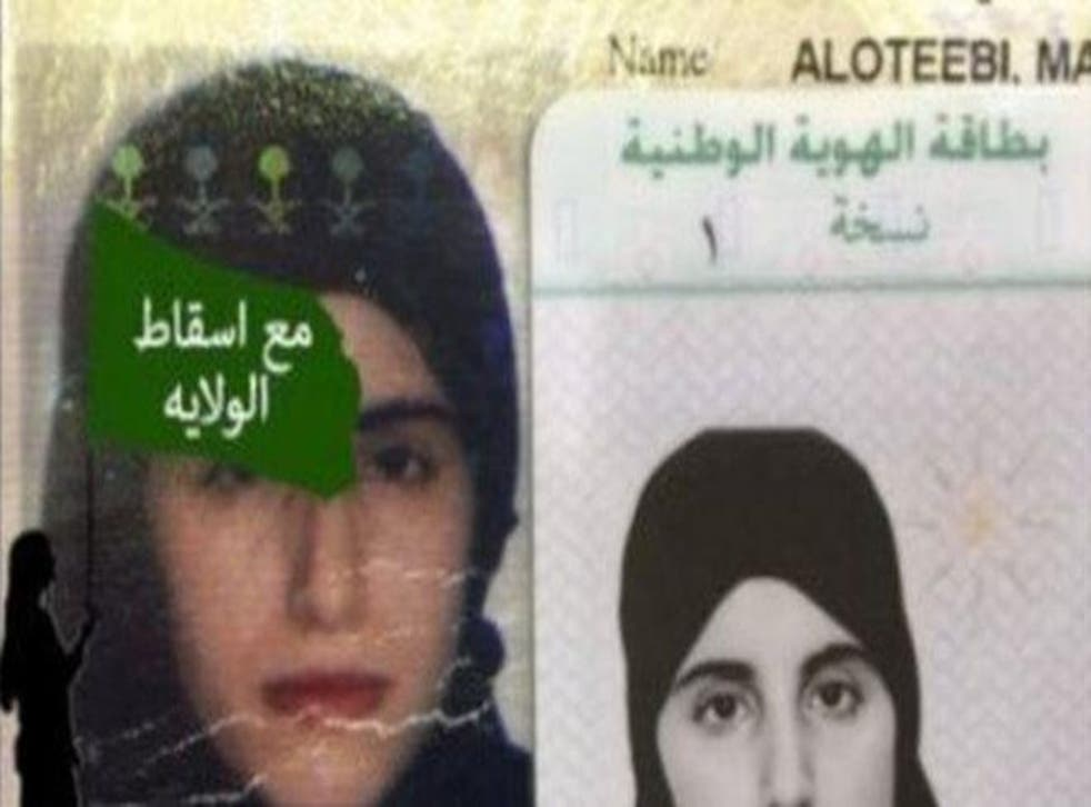 Just before her arrest, Ms Otaibi tweeted that she didn't want to 'go back to the hell' of her family