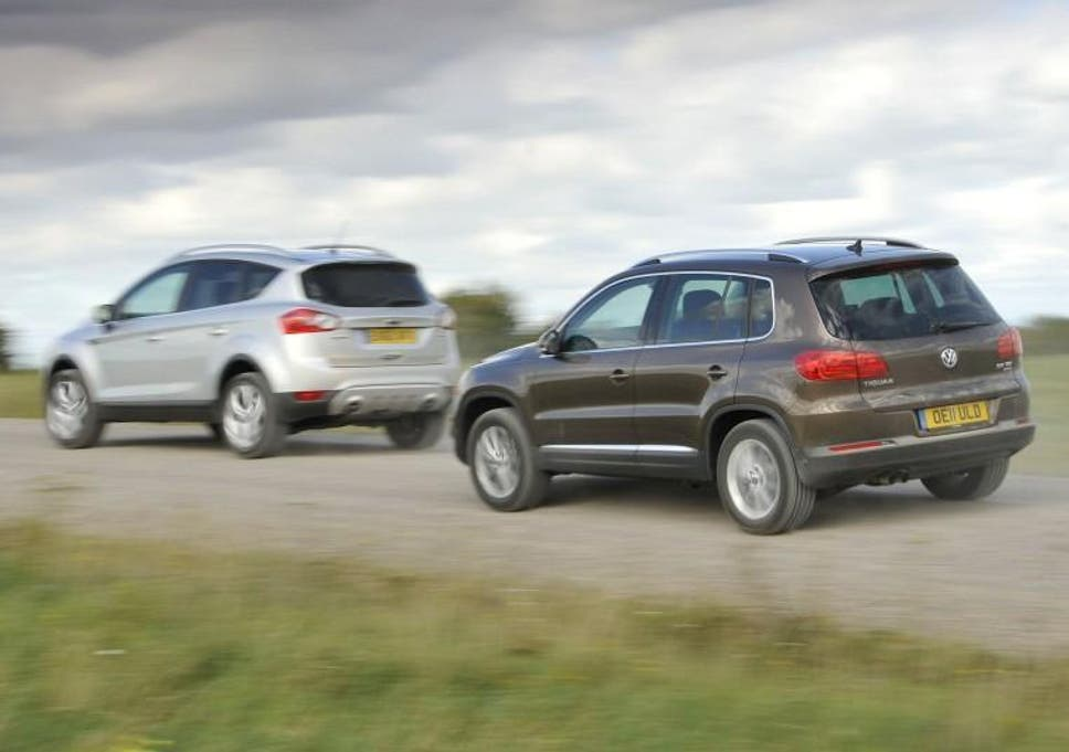Used Twin Test: Ford Kuga V Volkswagen Tiguan