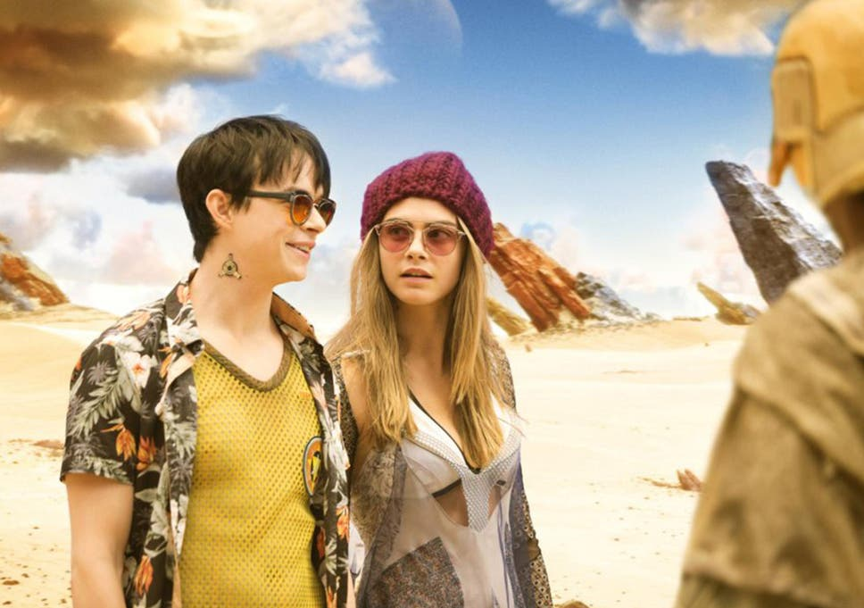 9fdcc8d54677 Dane DeHaan and Cara Delevingne have no on-screen chemistry in Luc Besson s new  blockbuster