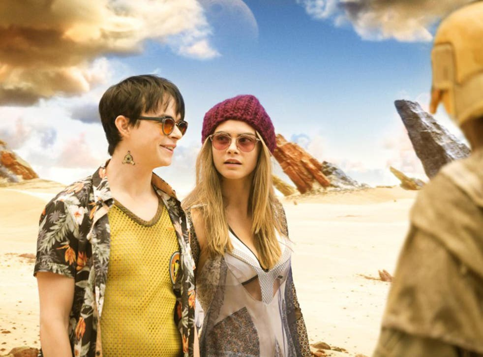 Dane DeHaan and Cara Delevingne have no on-screen chemistry in Luc Besson's new blockbuster 'Valerian and the City of a Thousand Planets'