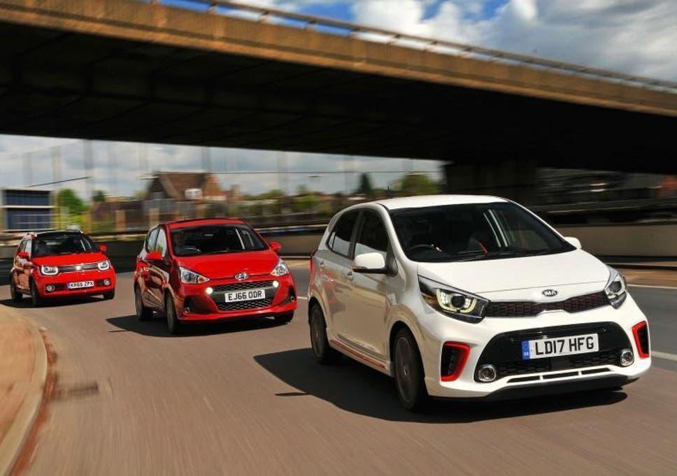 city cars: new kia picanto v hyundai i10 v suzuki ignis | the