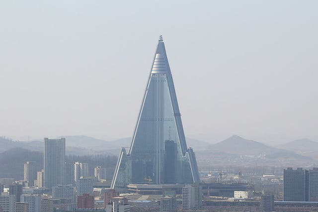 The Ryugyong Hotel has never entertained a single guest