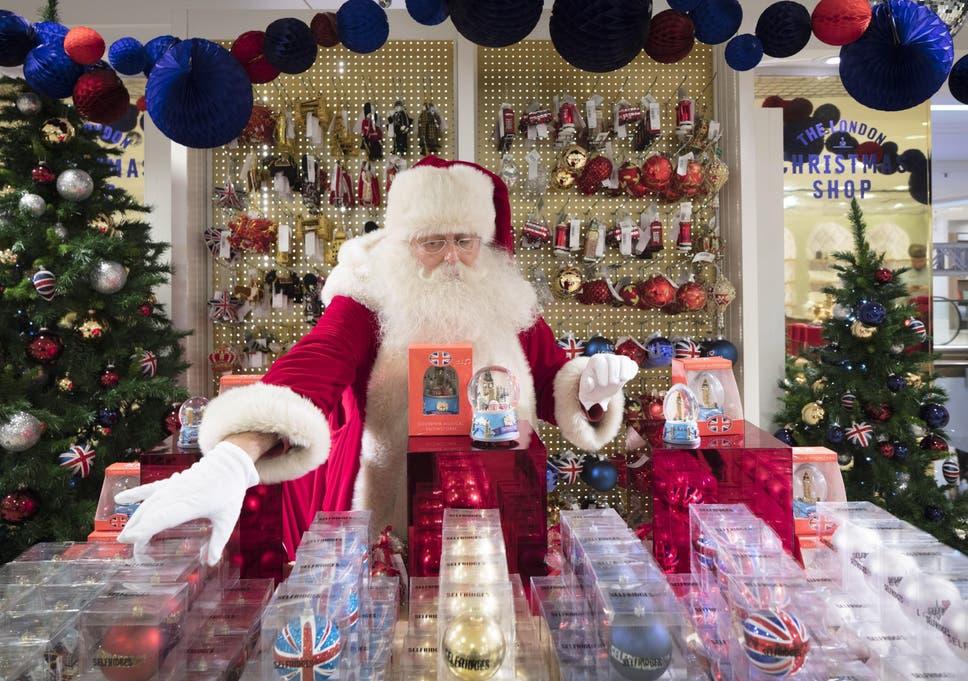 ec182c0e5c18a Selfridges opens Christmas store - 147 days before 25 December.